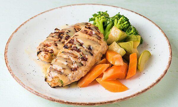Μπιφτέκι-κοτόπουλο